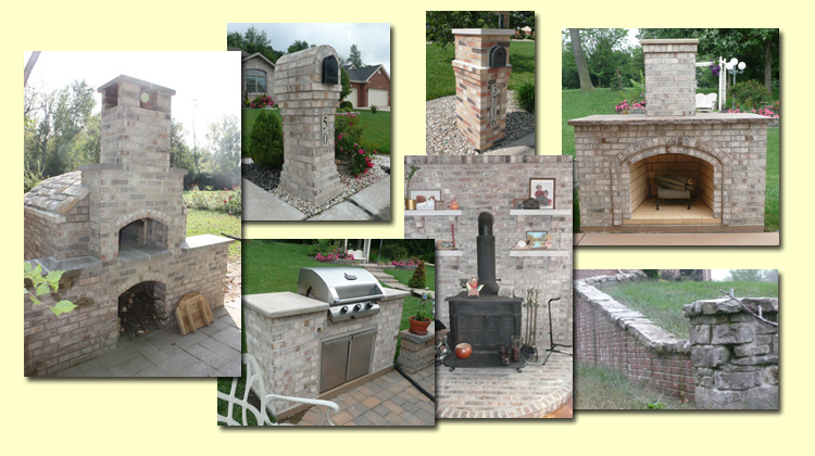 High Heat Masonry in Troy, IL Creates Brick Ovens, Retaining Walls, Mailboxes & Unique Masonry Products in Metro East Illinois